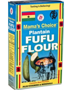 Mama's Choice plantain Fufu Flour | Plantain Flour - 22oz