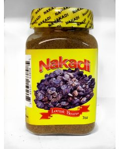 Nakadi - Locust Beans - Authentic African Taste, High Fiber Locust Bean Powder - 7oz