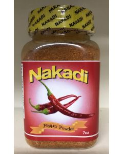 Nakadi - Pepper Powder - 100% Pure African Pepper - Ground, Plant-Based, Vegan - 7 oz