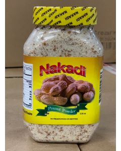 Nakadi Peanut Powder - Pure, Natural Peanut Powder - No Preservative or Additives - 12.8 oz