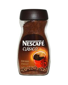 Nescafe Clasico Dark Roast 100% Pure Instant Coffee -- 7oz