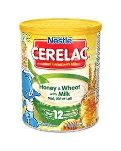 Nestle Cerelac - Honey and Wheat with Milk - 400g (England)