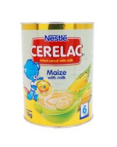 Nestle Cerelac | Baby Cereal with Maize - 1KG - 2.2 Lbs (England)