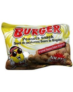 Nkatie Burger - Peanut Snacks (Pack of 6)