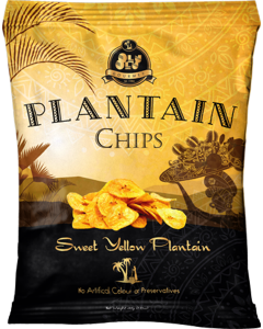 Olu Olu – Plantain Chips – Sweet Yellow Plantain