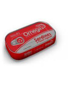 Omega – Sardines in Vegetable Oil – 4 3/8 oz/ 50 Cans