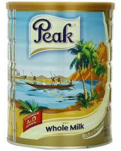 Peak Dry Whole Milk Powder with Vitamins A & D - Rich & Creamy Instant Milk Powder - 900 grams