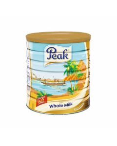 Peak Dry Whole Milk Powder with Vitamins A & D - Rich & Creamy Instant Milk Powder - Extra Large Can - 2500 grams (Pack of 6)