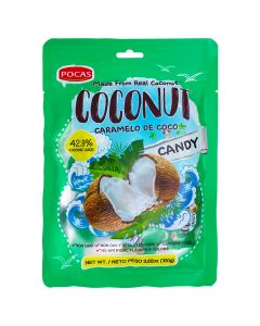 Pocas – Coconut – Candy – 3.52 oz/ 24 pcs