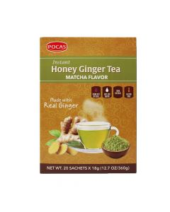 Pocas – Ginger Honey Tea – Matcha Flavor 18g