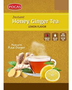 Pocas Ginger Tea – Lemon