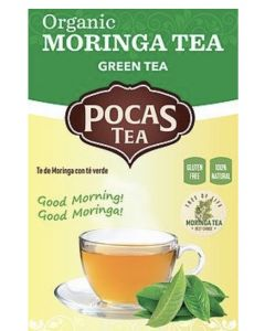 Pocas Tea – Organic Moringa Tea – Green Tea
