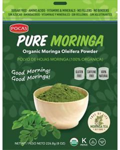 Pocas Tea – Pure Moringa Powder – 8 oz
