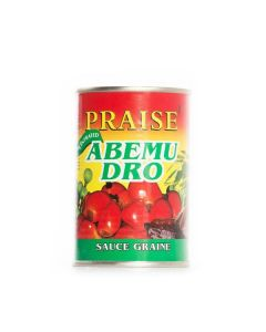 Praise – Abemu Dro – Traditional African Soup Concentrated - Palm Nut Soup with Herbs and Aubergine - 400g