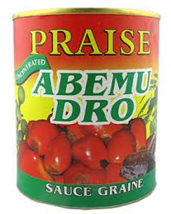 Praise – Abemu Dro – Traditional African Soup Concentrated - Palm Nut Soup with Herbs & Aubergine - 800g