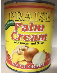 Praise – Ginger & Onion – Palm Cream –Convenient Concentrated Palmnut /Palm Nut Soup Base - 800g