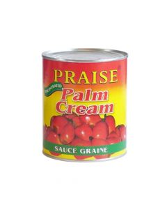 Praise Palm Cream (Banga)-  Convenient & Easy-to-Use, Creamy Palm Nut / Palmnut Soup Base - 400g