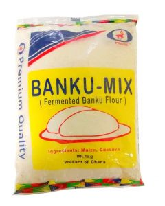 Praise African Fermented Banku Mix Cassava and Maize 1 kg