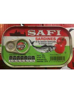 Safi - Sardines w/ Tomato Sauce - 125 g