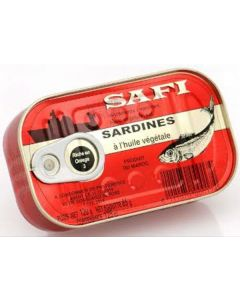 Safi - Sardines w/ Vegetable Oil - 125g