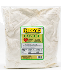 Oloye Whole Grain Oat Fufu - 4 lbs