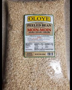 Oloye - All Natural Peeled Beans | For Moin-Moin, Beans Tamales (Koki, Akara, Kwose, Gbegiri) - 10lbs