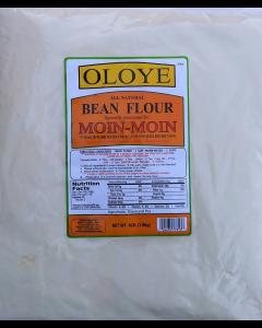 Oloye - All Natural Bean Flour | For Moin-Moin, Beans Tamales (Koki, Akara, Kwose, Gbegiri) - 4lbs