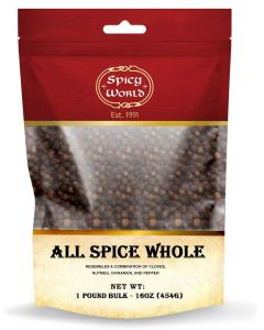 Spicy World Whole Allspice Berries - 1 lb