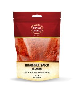 Spicy World Berbere Spice -Authentic Ethiopian Hand-blended Spice - 1 lb