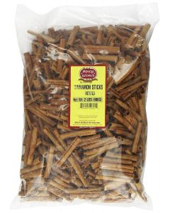 Spicy World Cinnamon Sticks Round (Cassia Cinnamon / Round Cinnamon)  - 2 Lbs