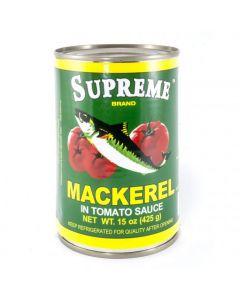 Supreme Mackerel - Green - 15 oz