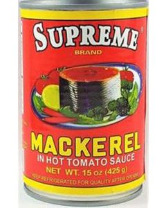 Supreme Mackerel - Red - 15 oz