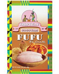 Tropiway Cocoyam Fufu Flour - 24oz