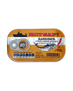 Hot Safi Sardines with Spicy Vegetable Oil - 125g
