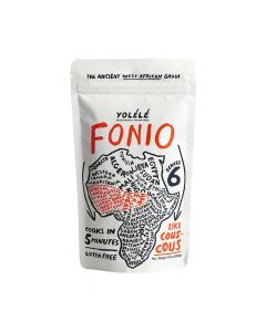 Yolélé Fonio - Gluten Free - High Protein - Ancient African Grain - 10oz