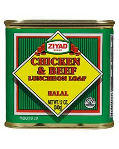 Ziyad - Chicken & Beef Luncheon - 12 oz