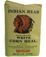 Indian Head - Stone Ground White Corn Meal - 2lbs