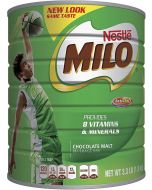 NESTLÉ MILO Chocolate Malt Beverage Mix, 3.3 Pound Can (1.5kg) | Fortified Powder Energy Drink