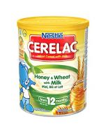 Nestle Cerelac - Honey and Wheat with Milk - Nutritious Instant Cereal for Toddler (12 Months & Up) - 400g (England)