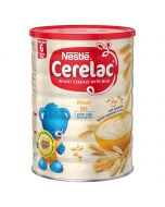 Nestle Cerelac - Wheat with Milk - Instant Cereal Powder - Toddler Cereal (6 Months Plus), 1kg (2.2 Pound)